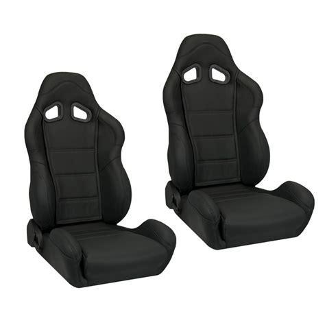 leather racing seats corbeau cr1 racing seat black leather l20901