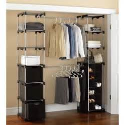 mainstays closet storage silver black closet