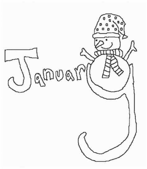 january coloring pages for toddlers january coloring pages new calendar template site