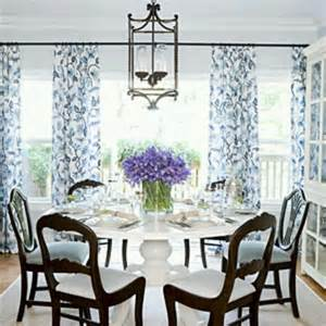 blue and white dining room dining rooms