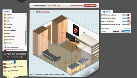 layout your dorm room headed to college design your dorm lets you build your