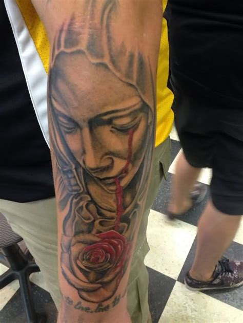 crying rose tattoo 38 awesome tattoos