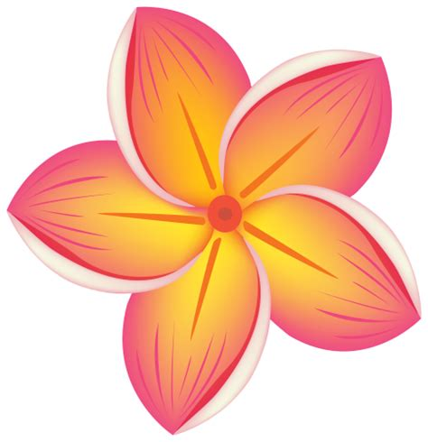 flower clipart tropical flower png clipart clip flowers three