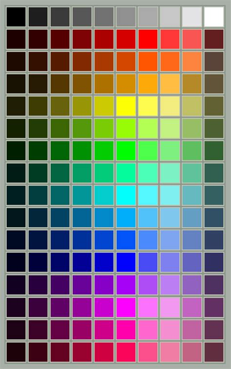 color swatches coh color swatch by thebluecanary on deviantart