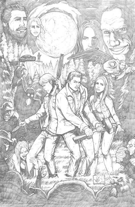 supernatural coloring pages    print