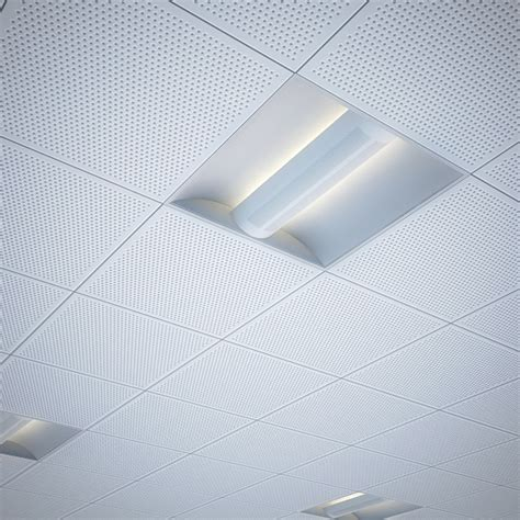 Office Ceiling Lights Office Recessed Ceiling Light By Lftspc 3docean