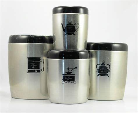 vintage mid century aluminium nesting canister set w lids vintage 1950s west bend aluminum nesting kitchen canister