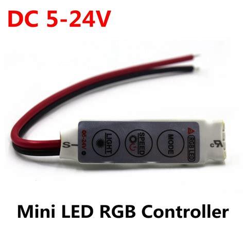 Paket Adaptor Led 5050 Rgb Remote Driver Rgb Besar dc 5v 12v 24v 12a 3keys mini led rgb controller dimmer driver for rgb 5050 3528 2835 5730 5630