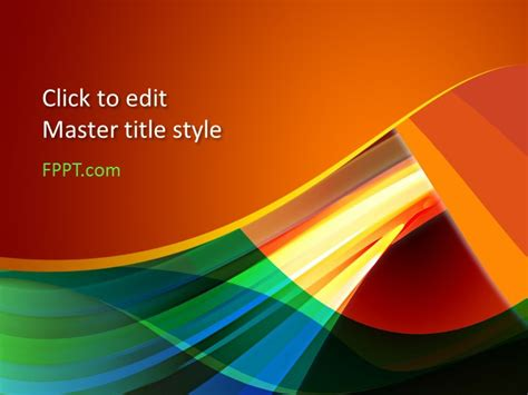 free color powerpoint template free powerpoint templates