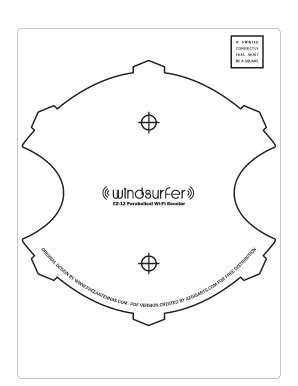 windsurfer template windsurfer template pdf