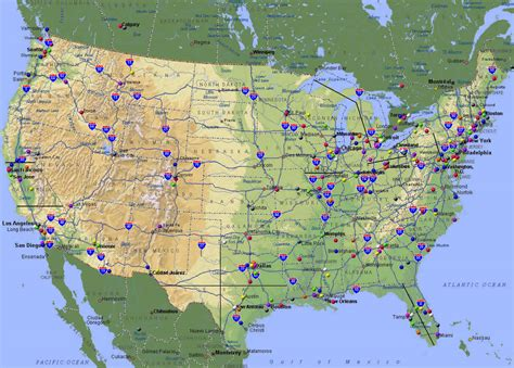 map of interstates in usa map of the united states