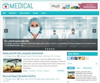 medical templates for blogger medical blogger template blogger templates 2018