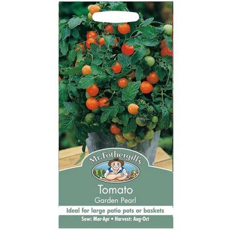 jual benih tomato garden pearl 50 biji mr fothergills bibit