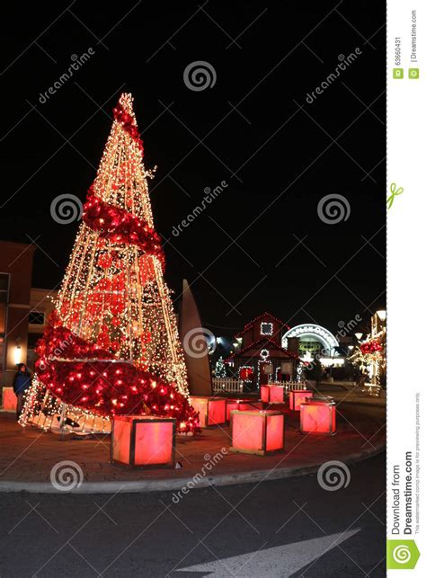 christmas décorations online canada tree lights and decorations at dix30 shopping mall brossard editorial photo image