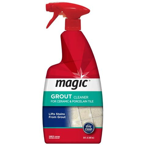 Grout Cleaning Products Shop Magic 30 Oz Grout Cleaner At Lowes
