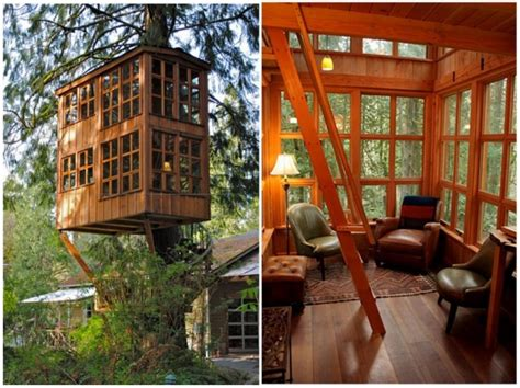treehouse point just outside seattle in issaquah washington is the