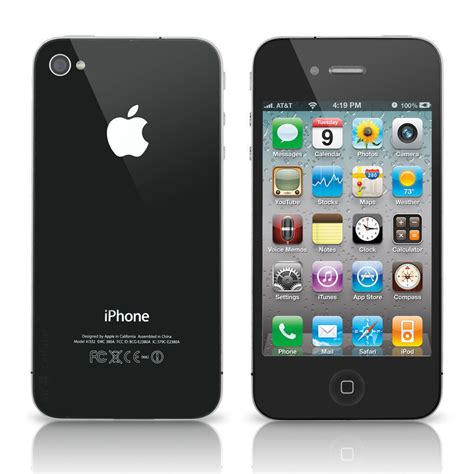 T Iphone 8 At T Apple Iphone 4 8gb Smartphone Property Room