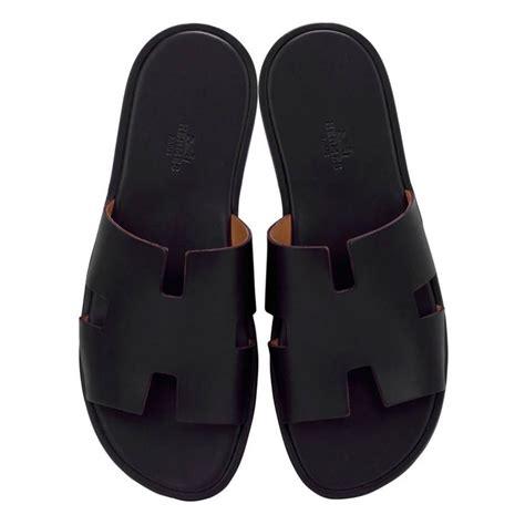 Sandal Hermes 2020 1 1 hermes sandals izmir veau leather black color 43 size 2016 at 1stdibs