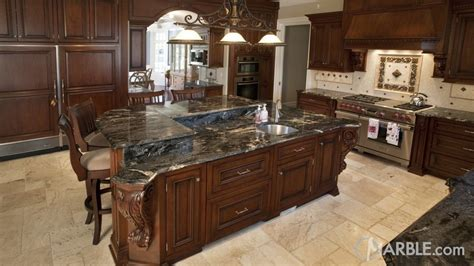 65 off wood kitchen island with black marble top tables light or dark countertops kitchen design ideas