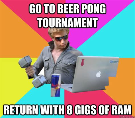 Beer Pong Meme - jackass api developer encodes json as a string inside some json brogrammer quickmeme