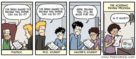Phd Comics Literature Review by Phd Comics The Academic Review Process Comics Phd Comics And Humor