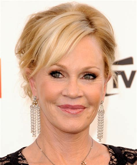 Melanie Griffith Updo Long Curly Formal Wedding Updo
