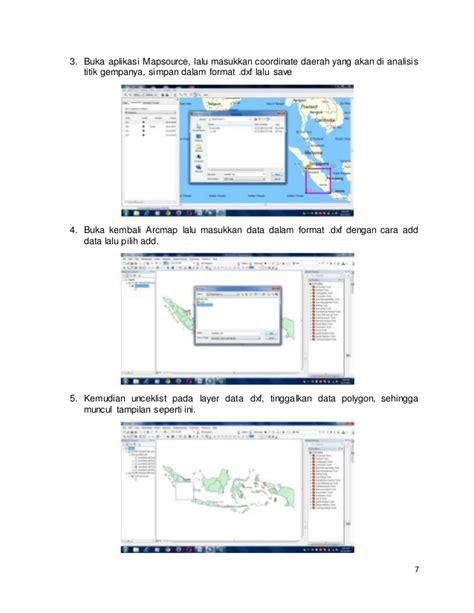 tutorial cara menggunakan arcgis tutorial membuat peta sebaran gempa menggunakan arcgis