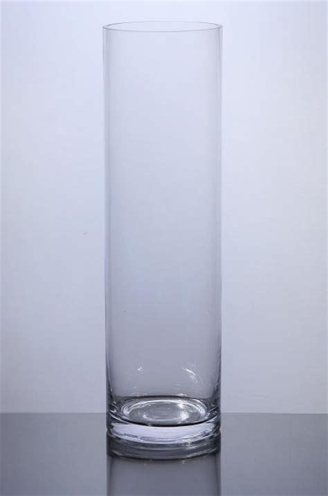 12 Inch Cylinder Vases Bulk by Pc412 Cylinder Glass Vase 4 Quot X 12 Quot 12 P C Cylinder