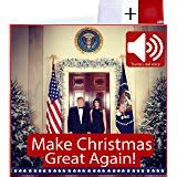 amazoncom talking trump christmas card wishes   merry christmas  donald trumps real