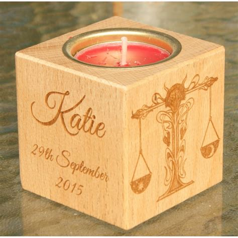 candele tealight personalised tealight candle holder