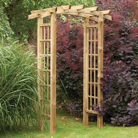 Wooden Garden Arch Uk Forest Garden Ryeford Wooden Garden Arch Gardener