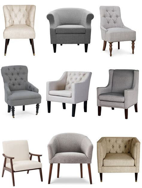 best sources for affordable neutral accent chairs