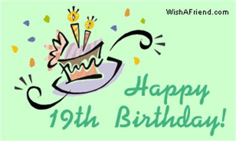 19 Birthday Quotes Happy 19th Birthday Quotes Quotesgram