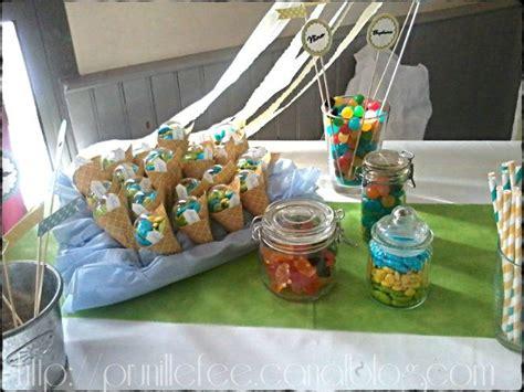 Decoration De Table Pour Bapteme Garcon by Sweet Table Pour Un Bapt 232 Me Gar 231 On Prunille Fait