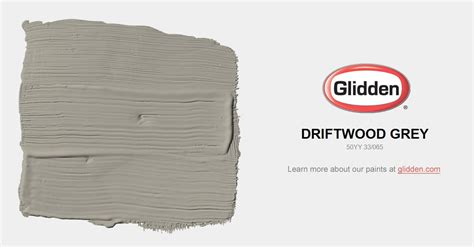 driftwood grey paint color glidden paint colors