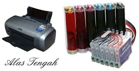 Tabung Modif Printer cara isi ulang tinta infus agar tidak bikin buntu di printer