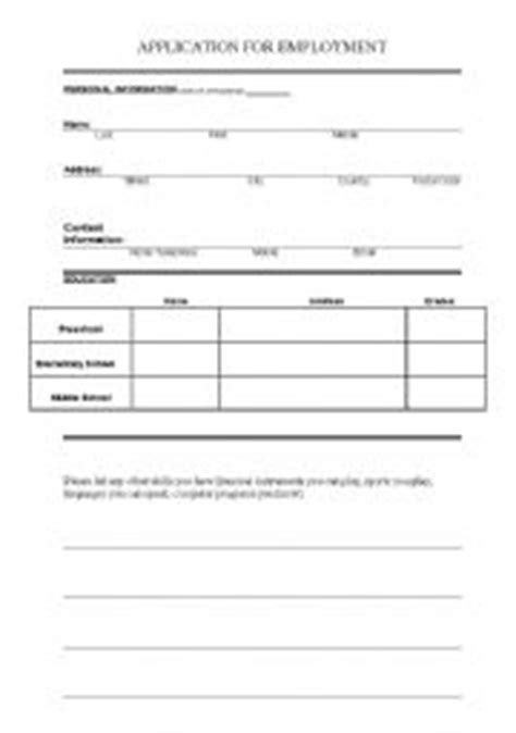 Application Vocabulary Worksheet by Teaching Worksheets