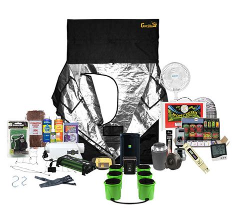 grow room supplies and equipment 5 x 5 gorilla grow tent kit ready to grow system
