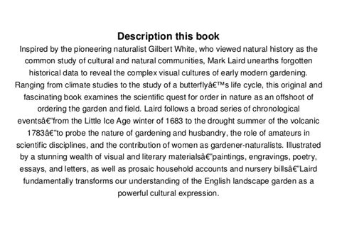 a natural history of 0300196369 read a natural history of english gardening 1650 1800 pdf full eboo