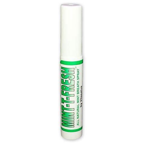 breath spray vitasalus mint t fresh breath spray 0 25 fl oz spray