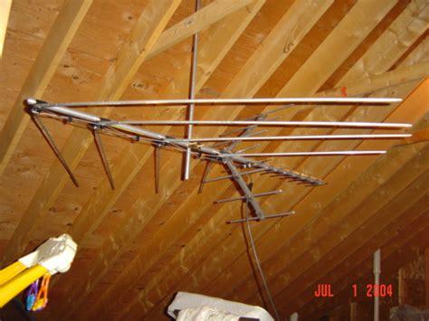 high resolution  attic hdtv antenna  attic tv