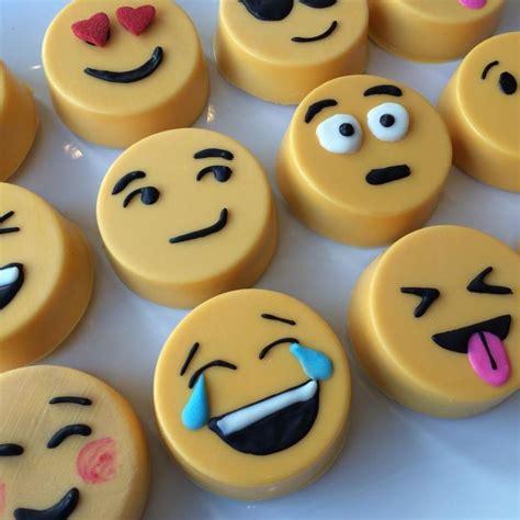 chocolate emoji emoji chocolate covered oreos lil cutie pops