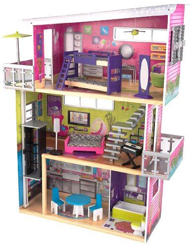 kidkraft large play kitchen with lights and sound kidkraft modern mansion dollhouse with lights and sounds