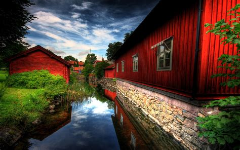 wallpaper hd village red village wallpapers hd wallpapers id 500
