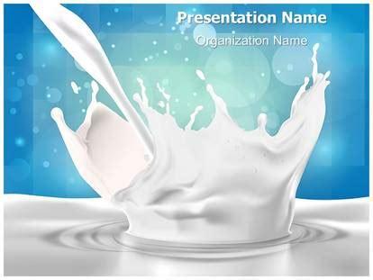presentation themes for milk milk splash powerpoint template background