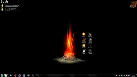 animated bonfire desktop background finally darksouls