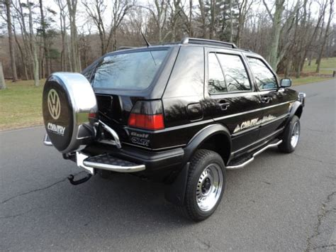 volkswagen golf country chrome syncro wd classic volkswagen golf   sale