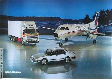 saab scania saab turbo poster 1988 original nordicposters