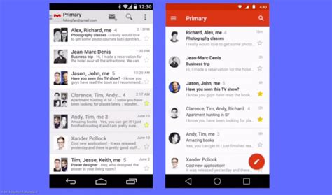 material design google android google s material design unifies user interface for