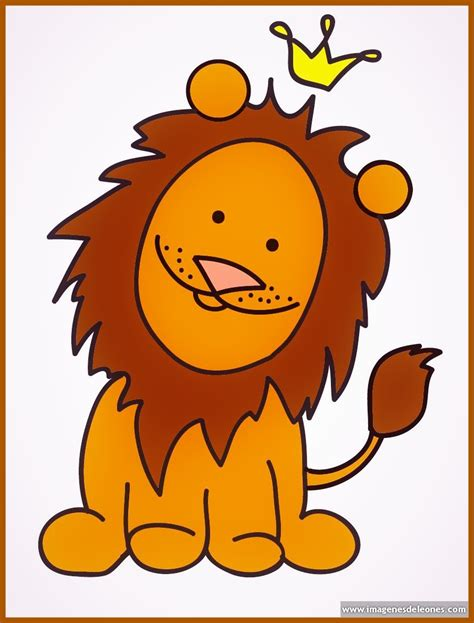 imagenes de leones fasiles dibujos de leones para colorear e imprimir archivos